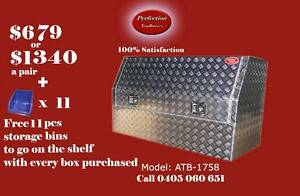 New heavy duty 3/4 open door 1700x530x820 aluminium toolbox Brisbane City Brisbane North West Preview