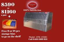 New heavy duty 1500x530x820 aluminium checkerplate toolbox Everton Hills Brisbane North West Preview