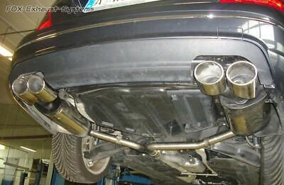 Duplex Sportauspuff Mercedes C-Klasse W204 S204 4-Zylinder Limousine u. T-Mo