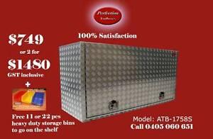 Square edge 2.5mm aluminium toolbox 1700x550x850 Brisbane City Brisbane North West Preview