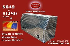 New 1658F full open door aluminium checkerplate toolbox Brisbane City Brisbane North West Preview