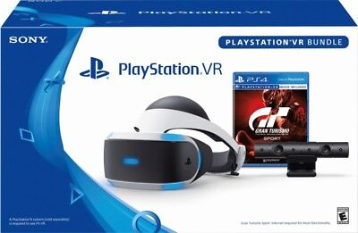 Sony - PlayStation VR Gran Turismo Sport Bundle VR1