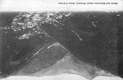 Spokane Washington Coeur D Alenes Mines And Mts Antique Postcard K37571