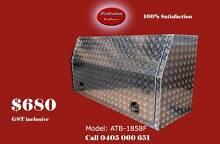 New 180cm long full open door aluminium checkerplate toolbox Everton Hills Brisbane North West Preview