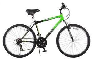 NEW Titan Trail 21-Speed Suspension Mens Mountain Bike Condtion: New, 18/Medium, Green/Black