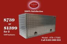 Heavy duty 2.5mm square edge 1700x550x850 aluminium toolbox Everton Hills Brisbane North West Preview