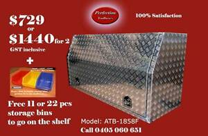 New 180cm full open door 2.5mm aluminium checkerplate toolbox Brisbane City Brisbane North West Preview