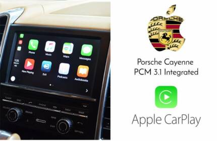 Porsche Cayenne Macan Panamera Apple CarPlay Upgrade
