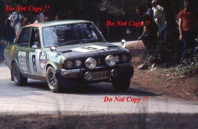 Michalis Koumas Mitsubishi Colt Galant Acropolis Rally 1976 Photograph 1