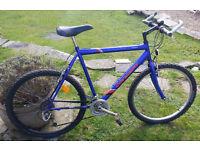 Unusual Concept (British) C101 classic Mountain Bike, MTB, Winter Hack, Training Iron, Pub bike
