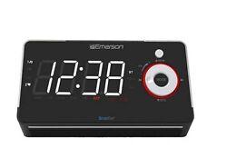 Emerson Smartset Alarm Clock Radio with Bluetooth Speaker - A