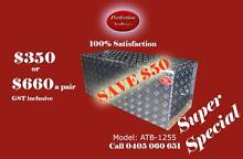 Special rectangle 120x50x50cm aluminium checkerplate toolboxes Everton Hills Brisbane North West Preview