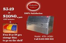 New heavy duty 1400x530x820 aluminium checkerplate toolboxes Everton Hills Brisbane North West Preview