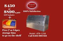New heavy duty 1200x530x820 aluminium checkerplate toolboxes Everton Hills Brisbane North West Preview