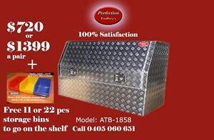 New 3/4 open door high side 180cm aluminium checkerplate toolbox Brisbane City Brisbane North West Preview