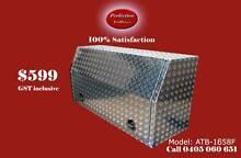 New 1658F full open door aluminium checkerplate toolbox Everton Hills Brisbane North West Preview