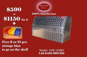 New heavy duty 1500x530x820 aluminium checkerplate toolbox Brisbane City Brisbane North West Preview