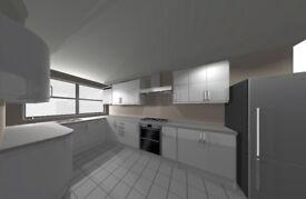 Brand NEW white glossy Homebase full kitchen 18 unit cabinet set