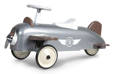 Baghera 878 Speedster Kids Ride On Plane Silver 2+ Years NEW