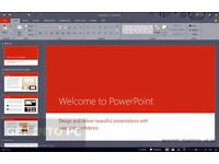 MICROSOFT OFFICE PRO SUITE 2016 for PC 32/64