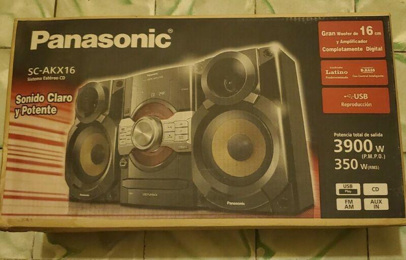 Panasonic vintage brand new never opened stereo system cd radio retro