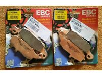EBC Double H Sintered Motorcycle Front & Rear Brake Pads