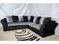 CHEAPEST PRICE LUXURY SOFA + Free FootStool 3+2 SEATER C0RNER SUIT90784