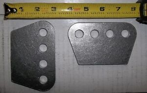"""1/4"""" THICK H/D 4 HOLE MOUNTING PLATE, SHOCKS, TRAC ARMS, 4 LINK, Belleville Belleville Area image 7"""