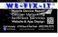 "CARL'S PHONE REPAIR  ""WE FIX IT"" 4728 ROSS ST. iphone 4/4s $55!!"