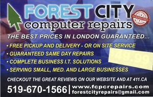 Any Computer/ Laptop/ Mac Issue Fixed , 90 DAY WARRANTY! London Ontario image 4