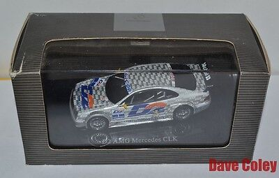 Stunning AutoArt D2 AMG Mercedes CLK Race car Boxed in display case 1:43rd Scale
