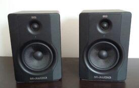 M-Audio BX5 pair