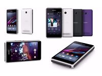 Unlocked Sony Xperia E1 Android Smart Phone - White