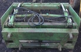 Silage Grab, Dung Grape Fitted With Quicke Euro No. 8 Brackets NO VAT...