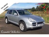 READY TO GO FOR THE SNOW! 2005 05 Porsche Cayenne V6 3.2, Mot 2018, full leather, A 'MUST SEE' CAR!