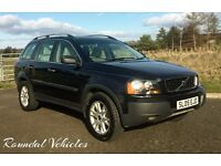 NOW REDUCED! 2005 Volvo XC90 D5 SE auto DIESEL 7seat 2 owners from new history 12 mths mot 2 keys!