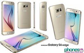 Samsung Galaxy S6 Edge Gold Platinum 64GB