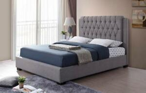 queen platform bed - Luxury quality Furniture (IF910)
