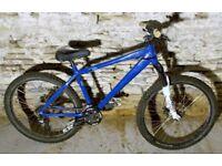 Pre-Owned Kona Shred Hardtail Mountain Bike Bomber Suspension