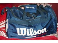 Blue Wilson holdall for sport or leisure