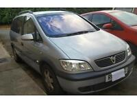 Vauxhall zafira elegance 1.8