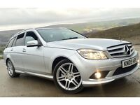 MERCEDES C220 CDI AMG DIESEL LOW MILES HPI CLEAR