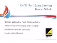 Gas Safe Engineer Birmingham and West Midlands Area