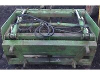 Silage Grab, Dung Grape Fitted With Quicke Euro No. 8 Brackets NO VAT...Delivery Available