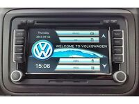 "BRAND NEW RNS510 STYLE HD DVD GPS SAT NAV 7"" VW PASSAT GOLF MK5 6 T5 BLUETOOTH/DVD/USB/SD/CANBUS"