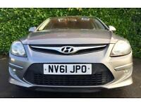 70 MPG £20 TAX TURBO DIESEL 2011 HYUNDAI I-30 1.6 90 BHP 6 SPEED GREAT DRIVE 3 MONTHS WARRANTY