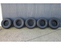 5x 265/70R16 Landcruiser Colorado 4x4 Tyres (265 70 16)