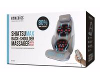 home medics chair massager,boxed,in original condition and remote handset