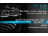 Matt's auto clean & window cleaning