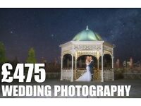 Affordable Professional Wedding Photography £475
